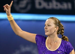 Petra Kvitova sets up Dubai Open final against Sara Errani