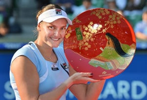 Nadia Petrova upsets Agnieszka Radwanska to win Pan Pacific Open