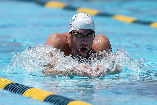 Michael Phelps Makes Two Finals, but Drops One