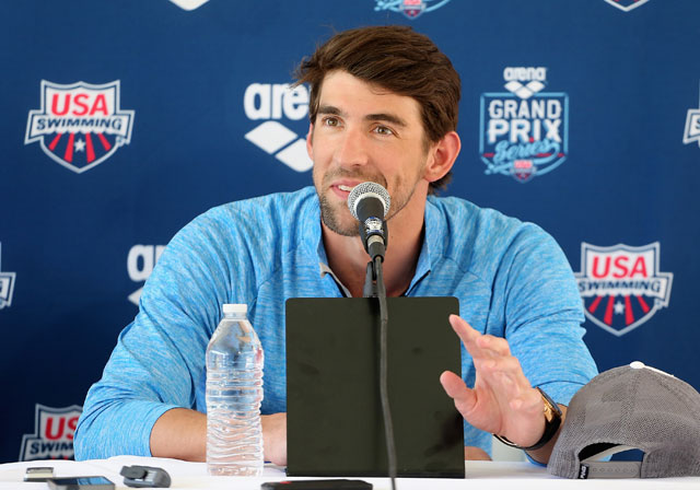 Michael Phelps Says He Still Feels Competitive Fire