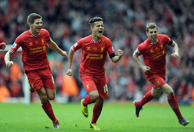 Liverpool FC beat Manchester City FC 3-2 to stay on course for Premier League title