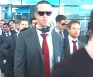 Kevin Pietersen meets Dalai Lama