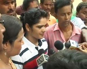 Pinki Pramanik released from jail after 25 days