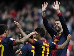 Messi, Iniesta lead as Barcelona hit Getafe for a six