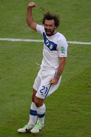 Confederations Cup: Italy's Andrea Pirlo set to return for semi-final against Spain