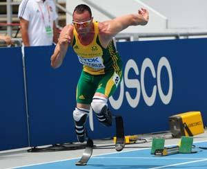 Worlds odyssey over for history-maker Pistorius