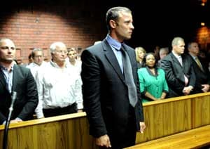 Pistorius family use website for court updates