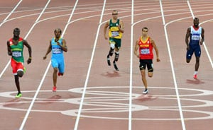 London 2012: Oscar Pistorius fails to qualify for 400 metres final