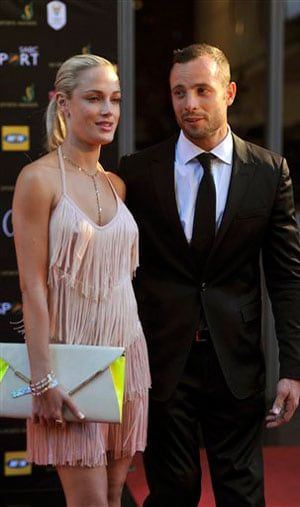 Pistorius' girlfriend was a model, law graduate
