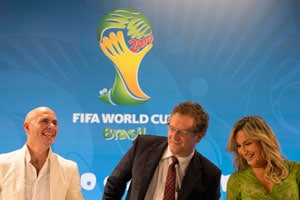 FIFA World Cup official song to feature Jennifer Lopez and Pitbull