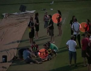 India vs Australia: Booze party on WACA pitch!