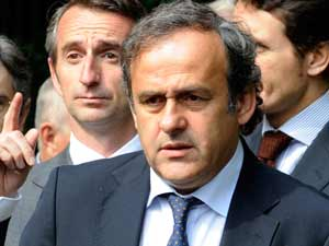 Platini threatens Serbia with ban due to hooligans