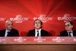 All Euro-2016 stadiums will be ready, insists Platini