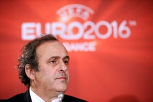 UEFA will come down hard if racism proved: Michel Platini