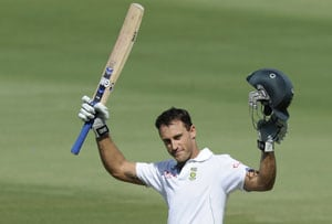 Faf du Plessis is at home in international cricket, feels coach Matthew Maynard
