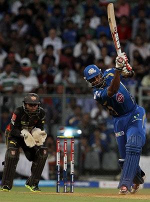 IPL 6 report: Kieron Pollard blitz takes Mumbai Indians to 7-wicket victory over Sunrisers Hyderabad