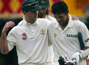 Ponting can draw inspiration from Dravid