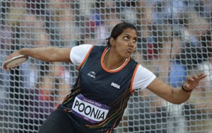 Olympics athletics: Krishna Poonia finishes seventh