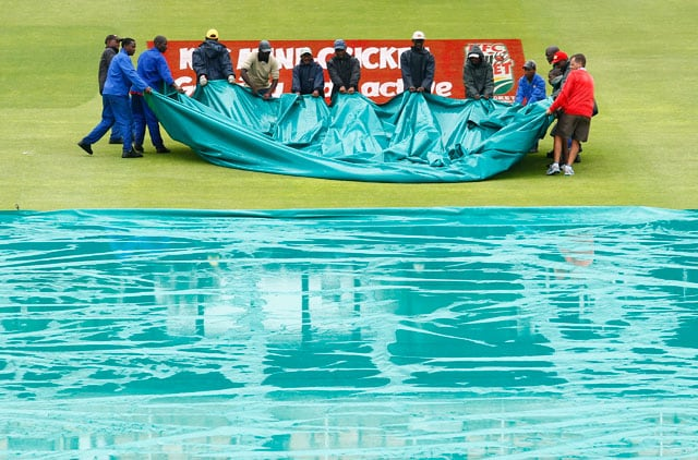 Rain washes out 1st Twenty20 between South Africa and Australia at Port Elizabeth