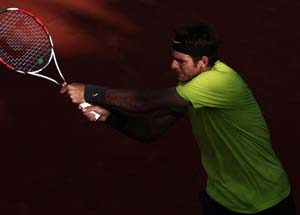 Del Potro downs Berdych at French Open