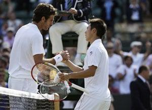 Wimbledon 2012: Del Potro praises 'dangerous' Nishikori