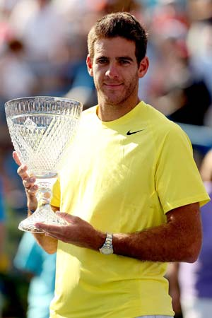 Juan Martin Del Potro beats John Isner to win Washington title