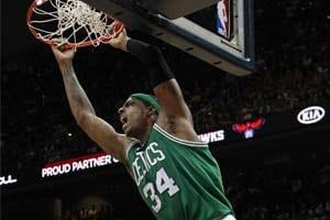 Pierce leads Rondo-less Celtics past Hawks, 87-80