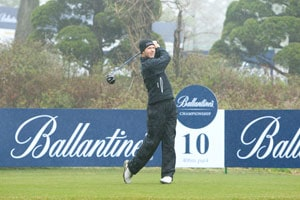 Kieran Pratt keeps Australia's flag high at the Ballantine's Championship