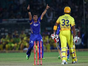 CLT20: As it happened - Rajasthan Royals hold nerve to knock out Chennai Super Kings