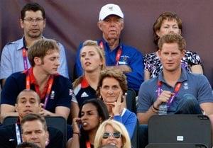 London 2012 Beach Volleyball: Life's a beach for Prince Harry