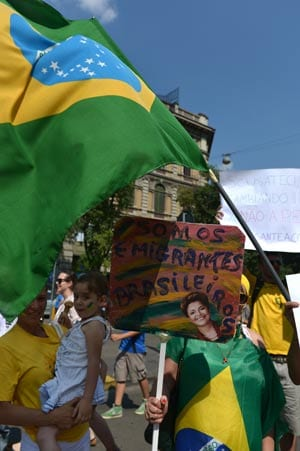 Protests as Brazil hosts Confeds final
