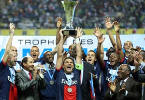 Alex secures dramatic Champions Trophy win for Paris Saint-Germain
