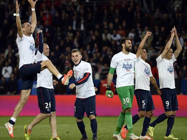 Paris Saint-Germain F.C. Clinch Ligue 1 Title