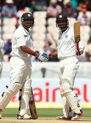 2nd Test, Hyderabad: Pujara, Vijay tons put India in command against hapless Australia