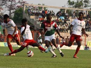 Mohun Bagan beat Salgaocar 2-1 in I-League