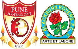 Pune players all set for Blackburn Rovers