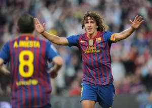 Barcelona lose Carles Puyol, Dani Alves for Bilbao trip