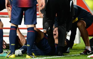 Eight weeks out for injured Carles Puyol