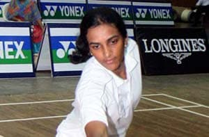 Will give my best against Saina Nehwal: P.V. Sindhu