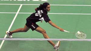 PV Sindhu, P Kashyap storm into semi finals, Gurusaidutt loses marathon battle in India GP badminton