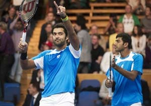 Sydney International: Bopanna-Qureshi reach semis, Paes-Stepanek crash out