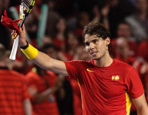 Nadal set to face France in Davis Cup semis