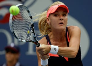US Open: Agnieszka Radwanska tops Silvia Soler-Espinosa to enter 2nd round