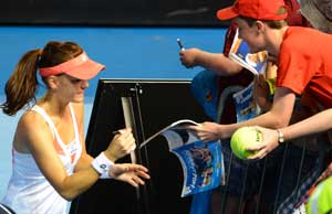 Agnieszka Radwanska continues her winning march