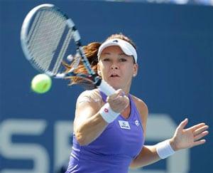 Agnieszka Radwanska, Ana Ivanovic cruise at US Open