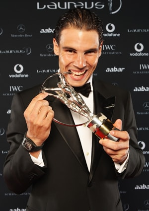 Nadal bags Laureus 'World Sportsman of the Year'