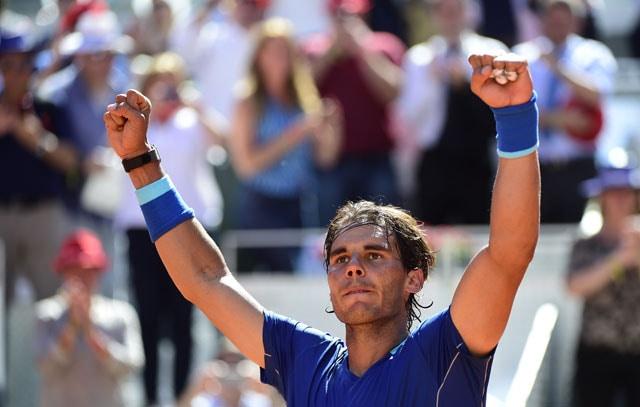 Rafael Nadal, Maria Sharapova Storm Into Madrid Masters Semis