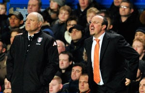Rafael Benitez tied up in knots over club colours