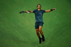 Now at 13 Slam titles, Rafael Nadal's gaining on Roger Federer