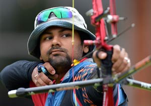 London Olympics Archery: Rahul Banerjee enters pre-quarters of individual event